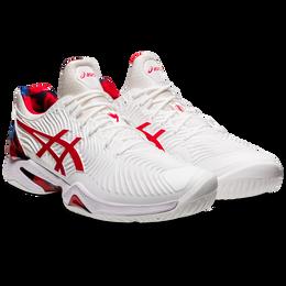 Court FF Novak L.E. Men's Tennis Shoe - White/Red