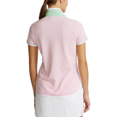 Alternate View 4 of Printed Collar Short Sleeve Tailored Golf Polo