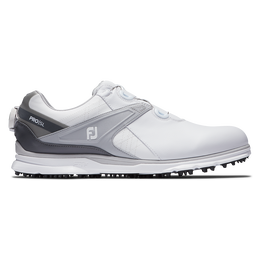 PRO|SL BOA Men's Golf Shoe - White/Grey
