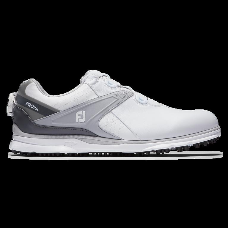 PRO|SL BOA Men's Golf Shoe - White/Grey