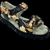 Alternate View 1 of Two-Strap Spikeless Women's Golf Sandal - Exotic FlowerBird