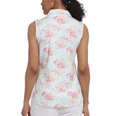 Alternate View 1 of Pink Glo Group: Sleeveless Floral Polo
