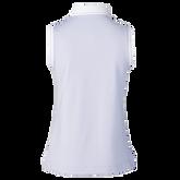 Alternate View 1 of Milia Salvia Sleeveless Striped Collar Polo Shirt