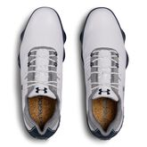 Under Armour Match Play Men's Golf Shoe - White/Blue