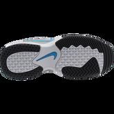 Alternate View 2 of NikeCourt Jr. Lite 2 Kids' Tennis Shoe - Grey/Blue