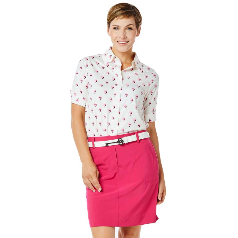 Sausalito Collection: Keystone Half Sleeve Floral Top