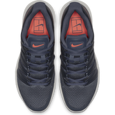 Alternate View 6 of Air Zoom Prestige Women's Tennis Shoe - Grey/Orange