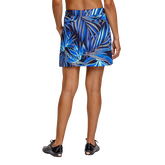 Alternate View 5 of Palm Springs Collection: Darby Frayed Frond Pull On Skort