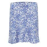Off The Charts: Lela Printed Skirt