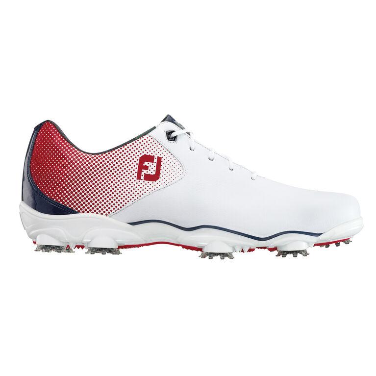 FootJoy D.N.A. Helix Men  39 s Golf Shoe - White Red eb3c3504785