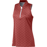 Primegreen HEAT.RDY Printed Racerback Sleeveless Polo Shirt