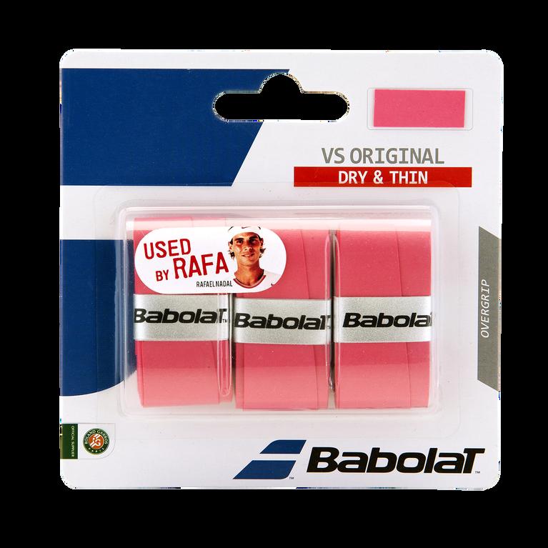 VS Original Overgrip 3 Pack - Pink