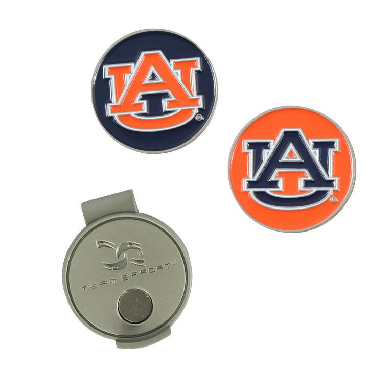 Team Effort  Auburn Hat Clip