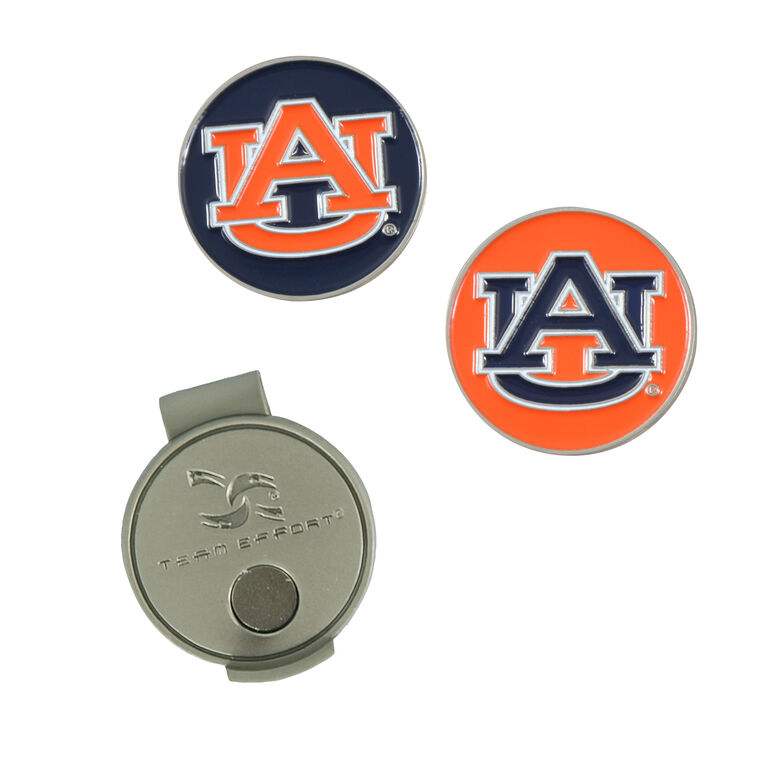 Team Effort  Auburn Hat Clip
