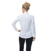 Alternate View 2 of Happy Hour Print Long Sleeve Quarter Zip Pull Over