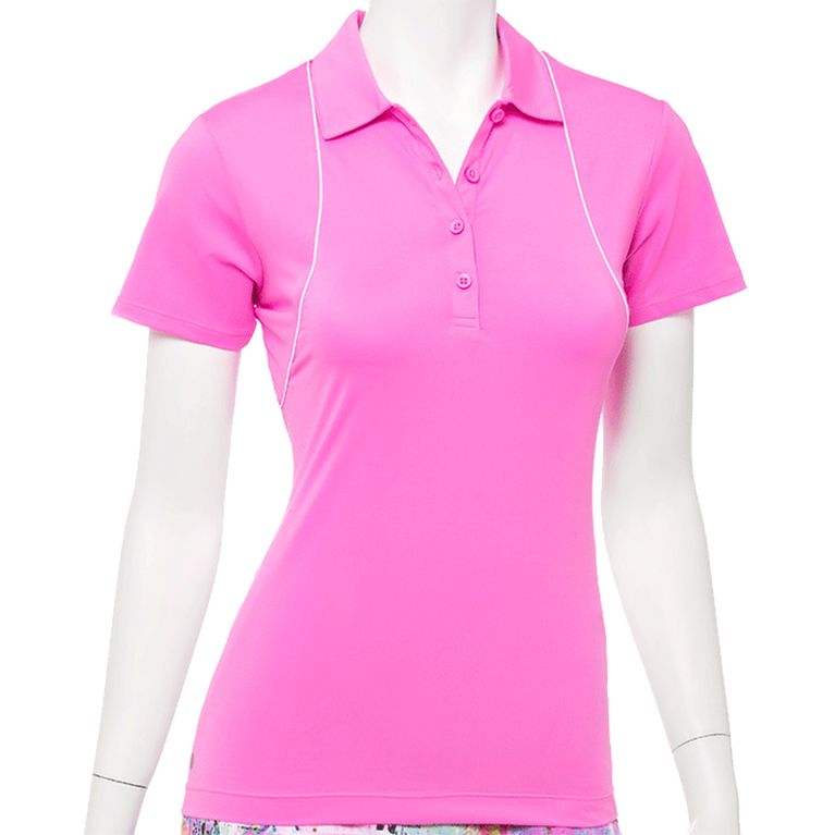 True Colors Collection: Short Sleeve Rainbow Polo