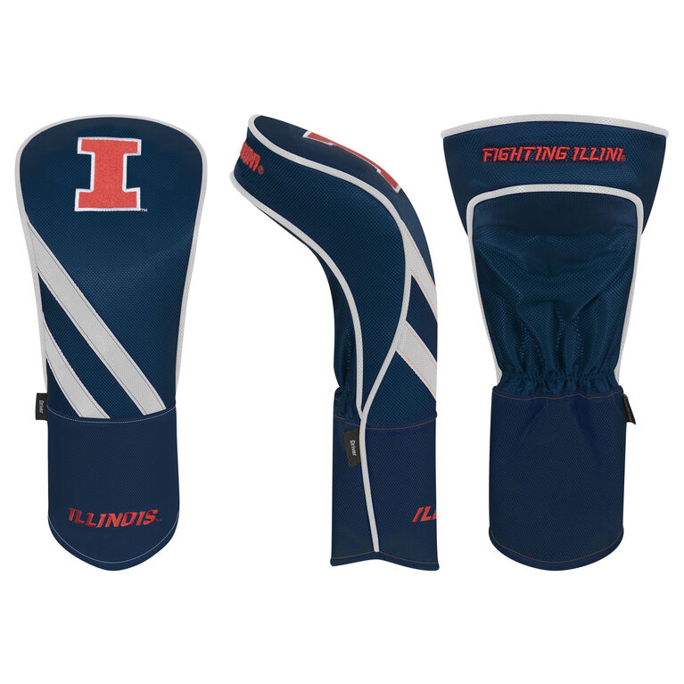 Team Effort Illinois Fighting Illini Driver Headcover
