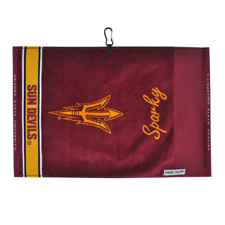 Team Effort Arizona State Face/Club Jacquard Towel