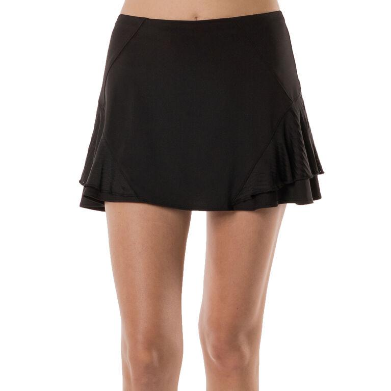 Lucky in Love Long Shadow Stripe Sidekick Skirt