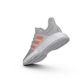 Alternate View 10 of Gamecourt Men's Tennis Shoes - Grey/Red