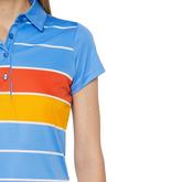 Alternate View 3 of Alysa Short Sleeve Striped Polo
