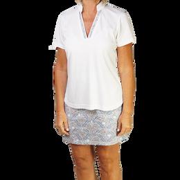 Coastal Collection: Short Sleeve Textured Polo