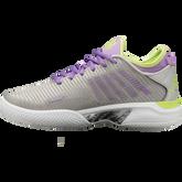 Alternate View 4 of Hypercourt Supreme Women's Tennis Shoe - Grey/Purple