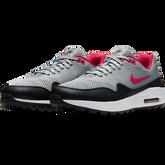 Alternate View 4 of Air Max 1 G Men's Golf Shoe - Grey/Red