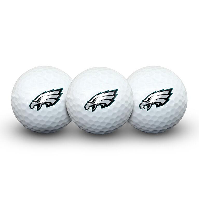 Team Effort Philadelphia Eagles Golf Ball 3 Pack