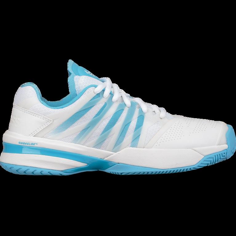 K-Swiss Ultrashot Women's Tennis Shoe - White/Blue