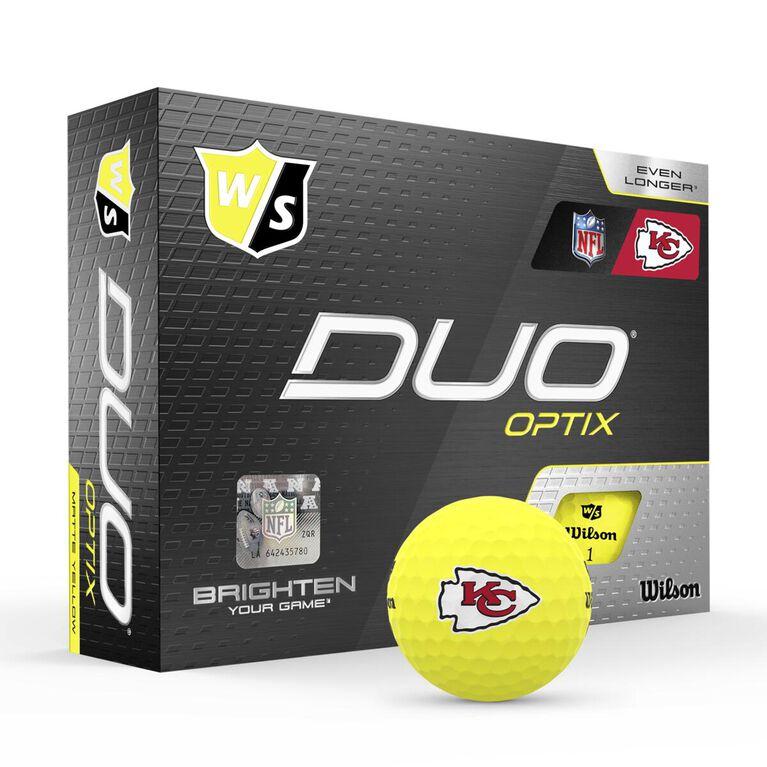 DUO Optix NFL Golf Balls - Kansas City Chiefs