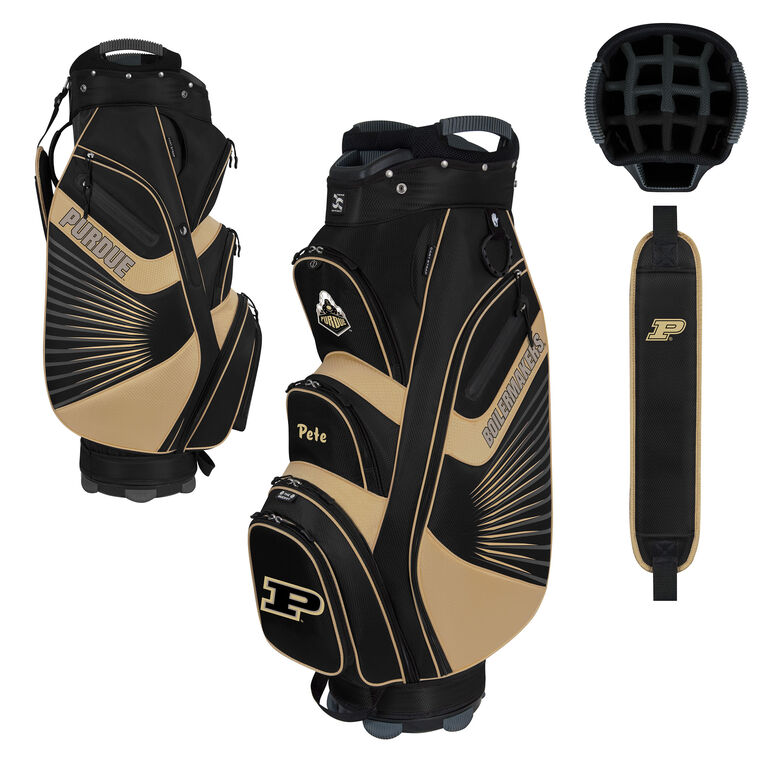 Team Effort Purdue Bucket II Cart Bag