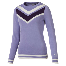 Women's Chevron Golf Sweater