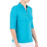 Alternate View 1 of Noa Elbow Sleeve Polo Shirt