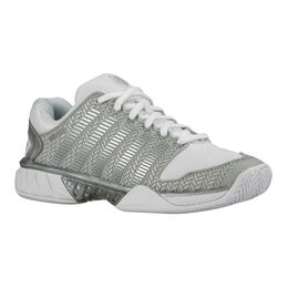 K-Swiss Hypercourt Express Women's Tennis Shoe - White/Silver