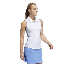 Minted Blues Collection: Ultimate Stripe Sleeveless Polo