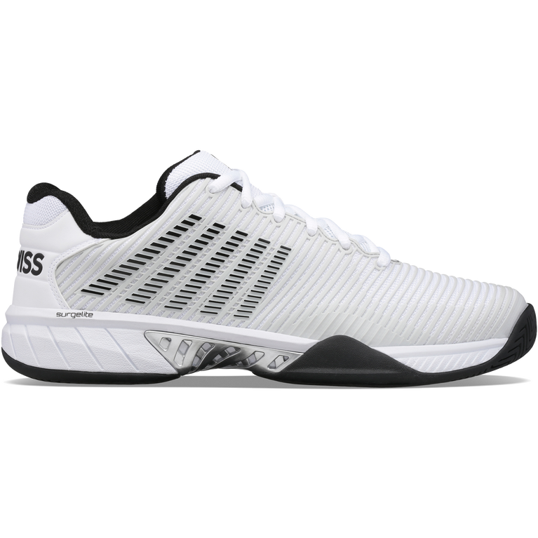 Hypercourt Express 2 Men's Tennis Shoe - White/Black