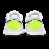Alternate View 8 of NikeCourt Jr. Vapor X Kids' Tennis Shoe - White/Yellow