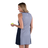 Alternate View 2 of Appletini Collection: Sleeveless Striped Swing Dress