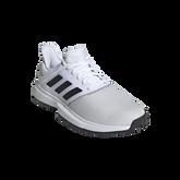 Alternate View 3 of adidas GameCourt WIDE Men's Tennis Shoe - White/Black
