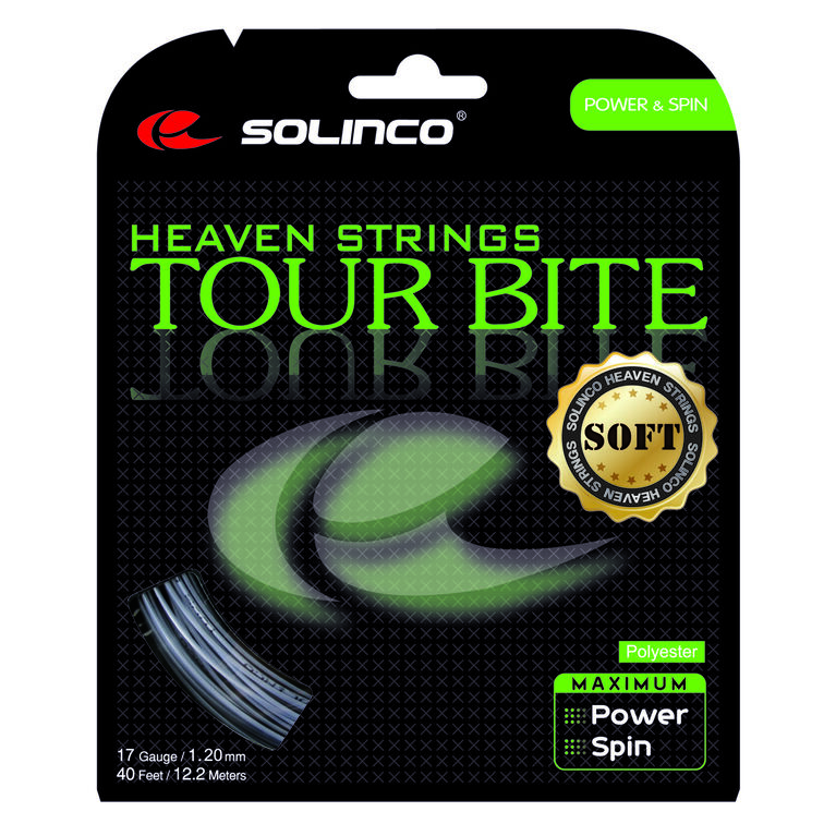 SOLINCO Tour Bite Soft 17 Gauge Tennis String
