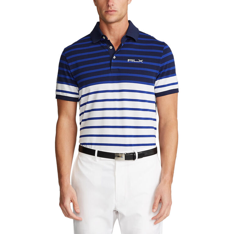 Custom Slim Tech Piqué Polo Shirt