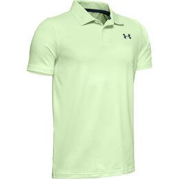 Performance Textured Boys' Golf Polo Shirt