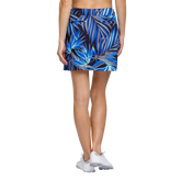 Alternate View 2 of Palm Springs Collection: Darby Frayed Frond Pull On Skort