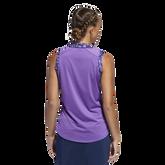 Alternate View 4 of Ultimate365 Printed Sleeveless Polo Shirt