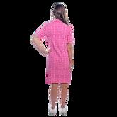 Alternate View 4 of Austin Short Sleeve All Over Maize Print Dress