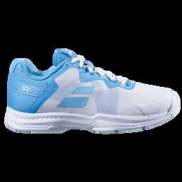 SFX 3 All Court Women's Tennis Shoe- White/Blue