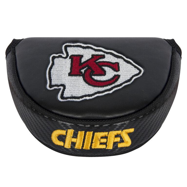 Team Effort Kansas City Chiefs Black Mallet Putter Cover
