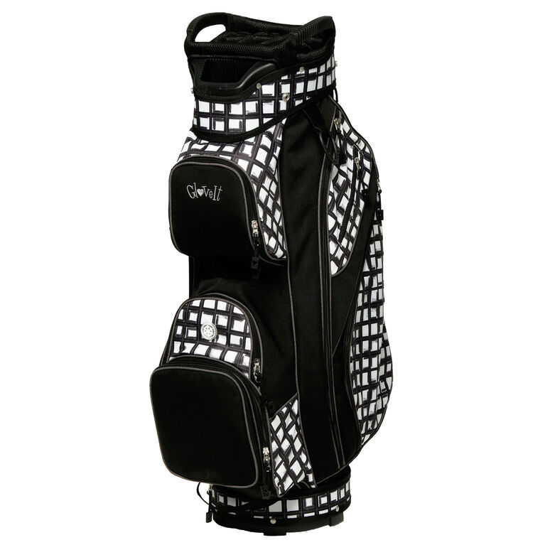 Abstract Pane Cart Bag