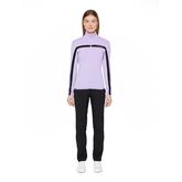 Alternate View 1 of Janice Full Zip Midlayer Stripe Jacket